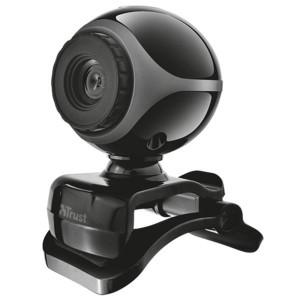 Trust Exis Webcam Black Silver