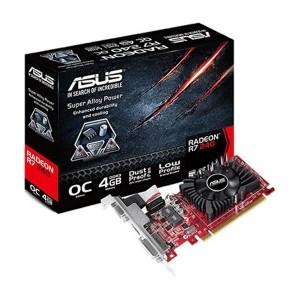 Placa Gráfica Asus Radeon R7 240 OC LP 4GB DDR3 (PCI-E)