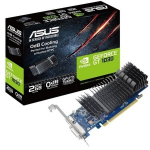 Placa Gráfica Asus GeForce GT710 SL 2GB GDDR5 (PCI-E)