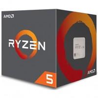 Cpu AMD Ryzen 5 2600 Hexa-Core 3.4GHz c/ Turbo 3.9GHz 19MB SktAM4 Box - YD2600BBAFBOX