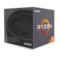 Cpu AMD Ryzen 5 2600X Hexa-Core 3.6GHz c/ Turbo 4.25GHz 19MB SktAM4 Box - YD260XBCAFBOX