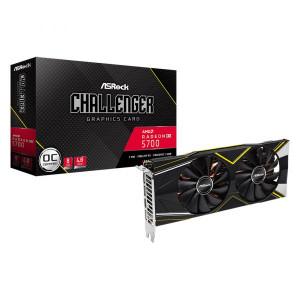 Placa Gráfica AsRock RX 5700 Challenger 8GB OC GDDR6 (PCI-E)