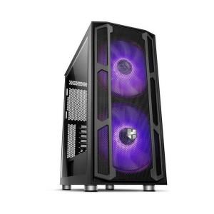 Caixa NOX Hummer Nova Vidro Temperado USB 3.0 ARGB Black