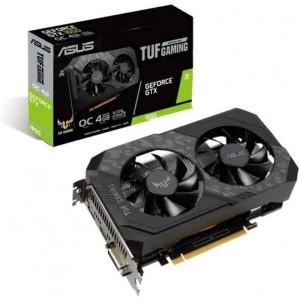 Placa Gráfica Asus GeForce GTX 1650 TUF Gaming 4GB OC GDDR6 (PCI-E) - 90YV0EH0-M0NA00