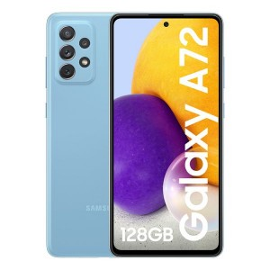 "Smartphone Samsung Galaxy A72 6.7"" Dual SIM 6GB/128GB SM-A725F Awesome Blue (Desbloqueado)"