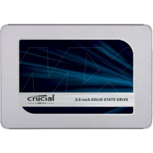 "Disco SSD Crucial 500GB MX500 2.5"" 3D TLC SATA III"
