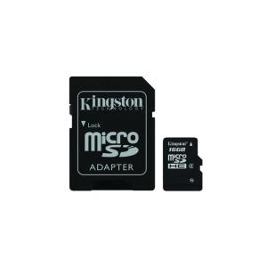 Kingston 16GB Micro SDHC Class 4 - SDC4/16GBSP