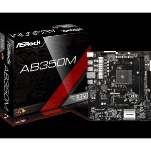 Asrock AB350M SKT AM4 - 90-MXB580-A0UAYZ