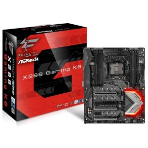 ASRock - Fatal1ty X299 Gaming K6 - 90-MXB5E0-A0UAYZ