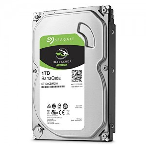 Disco Seagate 1TB BarraCuda 64MB 7200rpm SATA III 3.5 - ST1000DM010