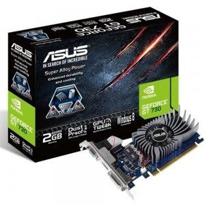 Asus GeForce GT730 2GB GDDR5 (PCI-E) - 90YV06N1-M0NA00