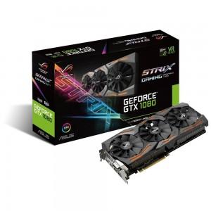 Asus GeForce GTX1080 ROG Strix Advanced 8GB GDDR5X (PCI-E) - 90YV09M2-M0NM00