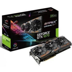 Asus GeForce GTX1070 Strix Gaming Aura RGB DirectCU III 8GB GDDR5 (PCI-E) 90YV09N0-M0NA00