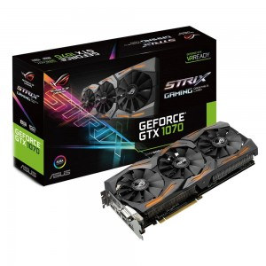 Asus GeForce GTX1070 ROG Strix 8GB GDDR5 (PCI-E) 90YV09N2-M0NA00