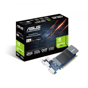 Asus GeForce GT710 2GB DDR5 (PCI-E) - 90YV0AL3-M0NA00