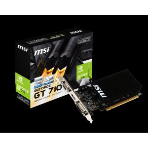 MSI GeForce GT710 LP 1GB DDR3 (PCI-E) - 912-V809-1899