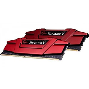 G.Skill 32GB Ripjaws V (2x 16GB) DDR4 2400MHz PC4-19200 CL15 Red - F4-2400C15D-32GVR
