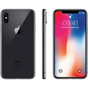 Apple iPhone X 265GB- Cinzento Sideral