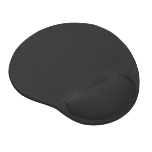 Trust Bigfoot Gel Mouse Pad Black