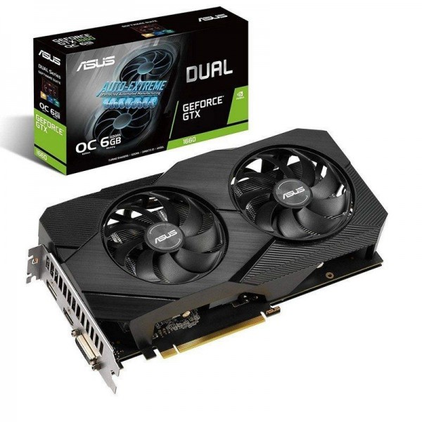 Asus Geforce GTX 1660 EVO OC Edition 6GB GDDR5