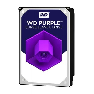 Disco Rígido Western Digital 6TB 3.5 Purple 7200rpm SATA III 64MB - WD60PURX