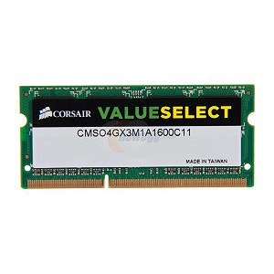 Corsair 4GB DDR3 1600MHz PC3-12800 CL11