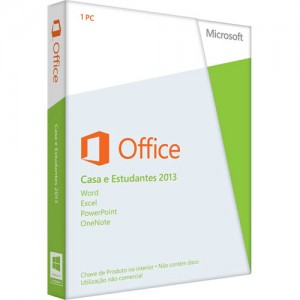 Microsoft Office Home and Student 2013 32-bit/x64 PT Eurozone Medialess - 79G-03732