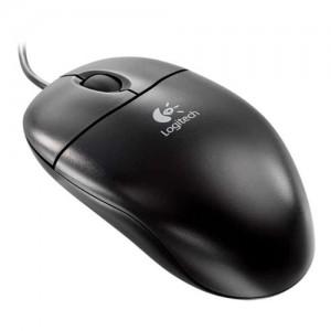 Logitech S96 Optical Black PS/2 Bulk