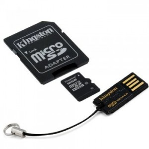 Kingston 8Gb SD Multi Kit Mobility Kit - MBLY4G2/8GB