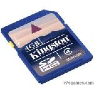 Kingston SD Card 4Gb Class 4