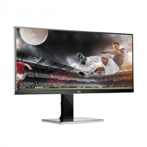 "AOC U3477PQU 34"" 5ms HDMI DVI DP SPEAKERS"