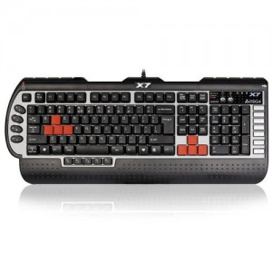 A4Tech Teclado Gaming X7 G800V USB Black PT