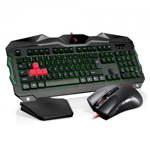 A4Tech Teclado + Rato Bloody B2100 Blazing Gaming Iluminado