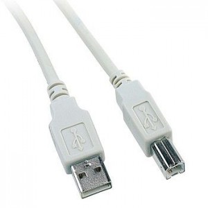 Cabo para impressora Tipo A/B USB 1.8m