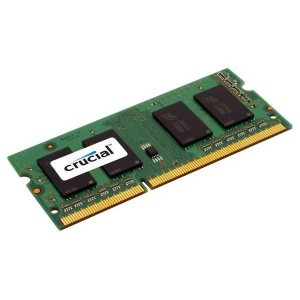 Crucial 4GB DDR3 1600MHz SO-DIMM CL11