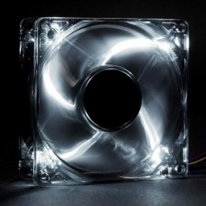 Revoltec 120mm LED Dark Grey