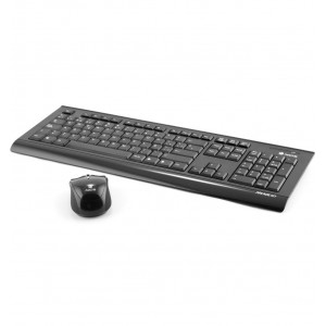 NGS 2.4 GHz Wireless Keyboard and Mouse Arcade Kit